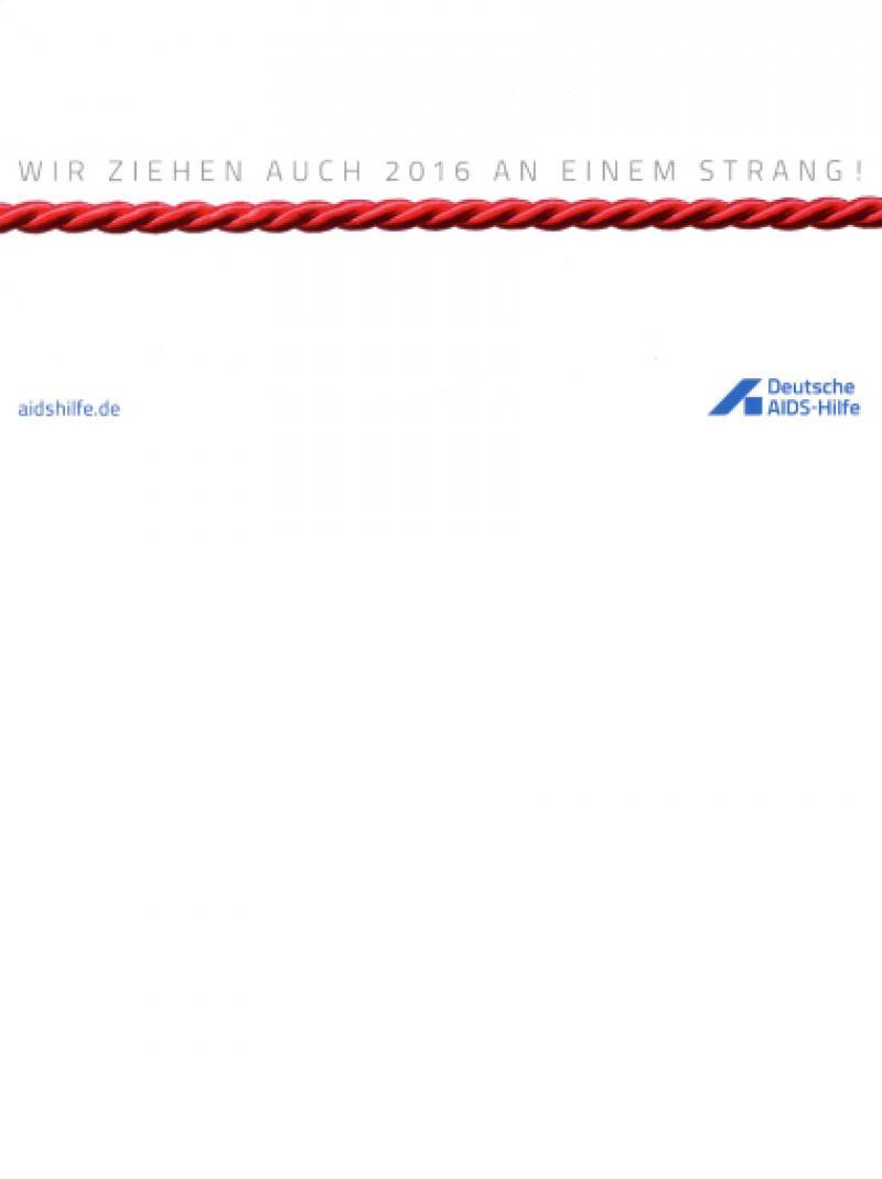 Weihnachtspostkarte - Deutsche AIDS-Hilfe e.V. 2015