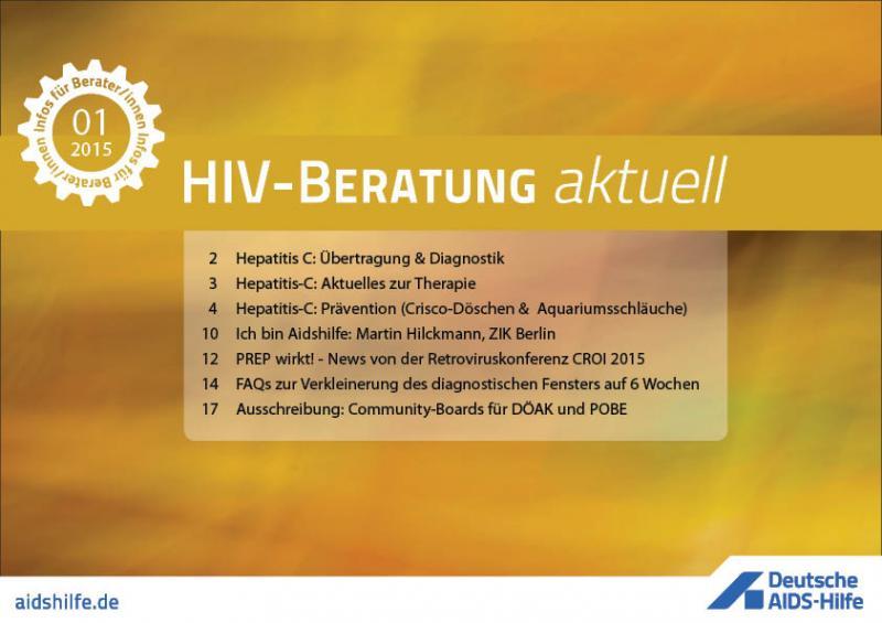HIV-Beratung aktuell 2015/01