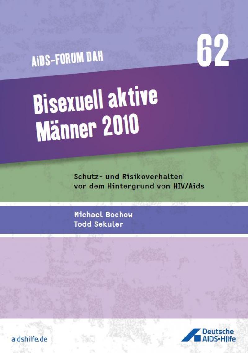 """Titelbild Forumsband 62 """"Bisexuell aktive Männer 2010"""""""