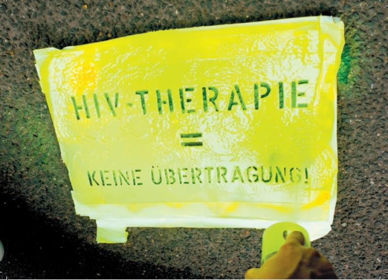 Welt-Aids-Tag 2018: Wissen verdoppeln (Postkarte)