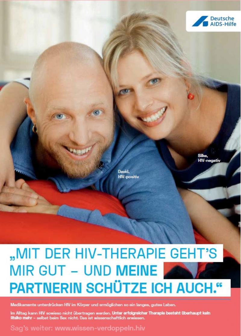Welt-Aids-Tag 2018: Wissen verdoppeln (Mit der HIV-Therapie geht`s mir gut)