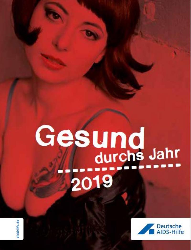 """Sexarbeiterin. Titel """"Gesund durch's Jahr 2018"""