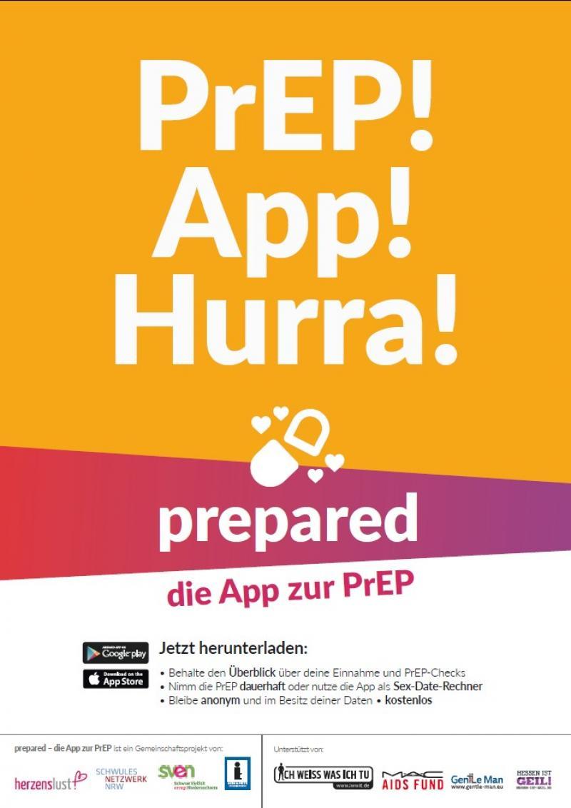 PrEP! App! Hurra!
