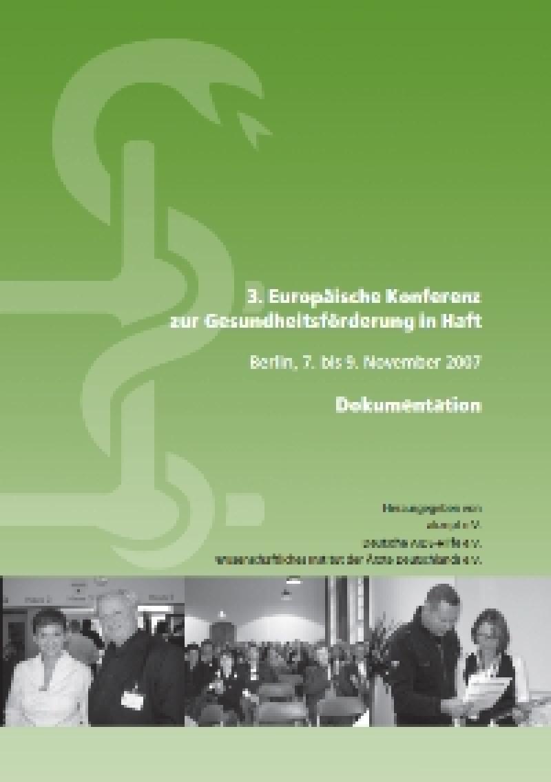 3. Europäische Konferenz zur Gesundheitsförderung in Haft