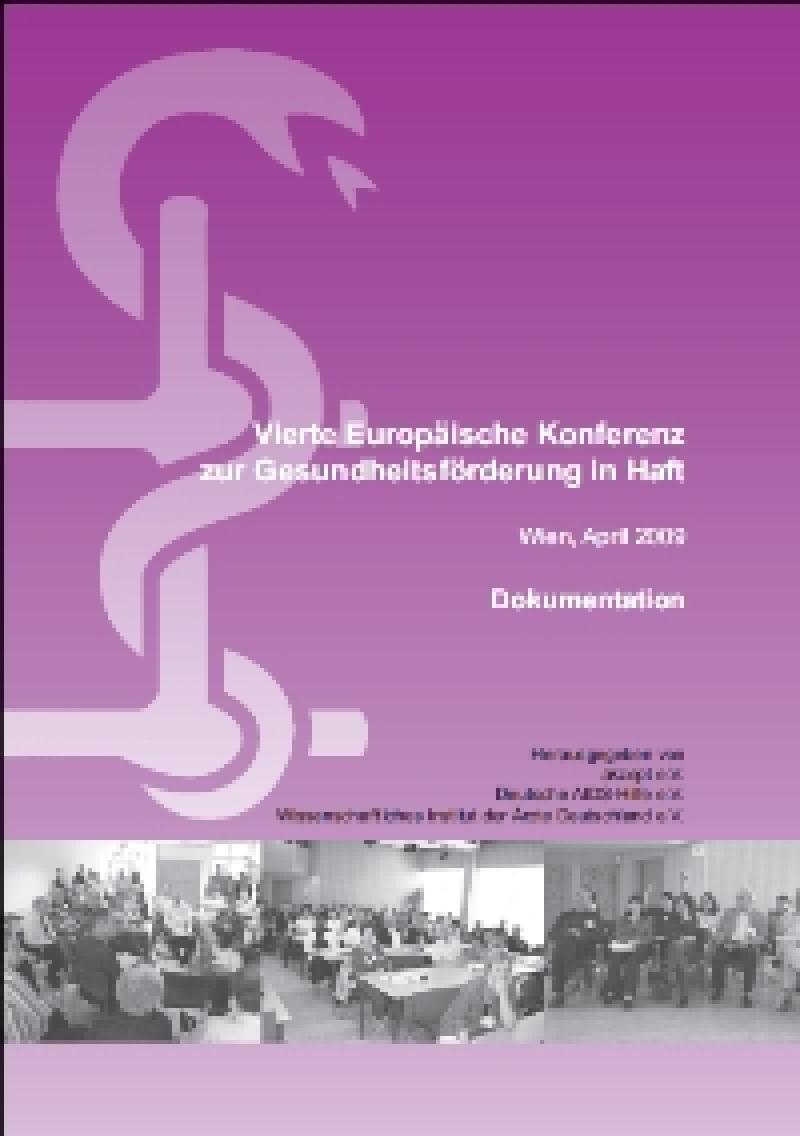Vierte Europäische Konferenz zur Gesundheitsförderung in Haft