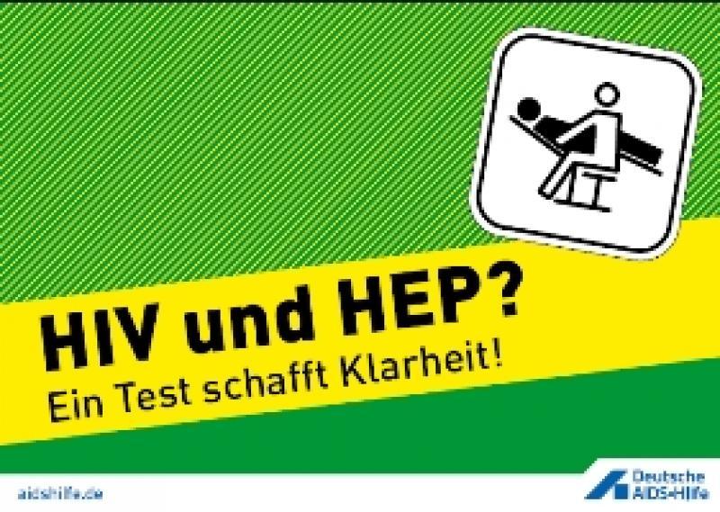 HIV und HEP Ein Test schafft Klarheit