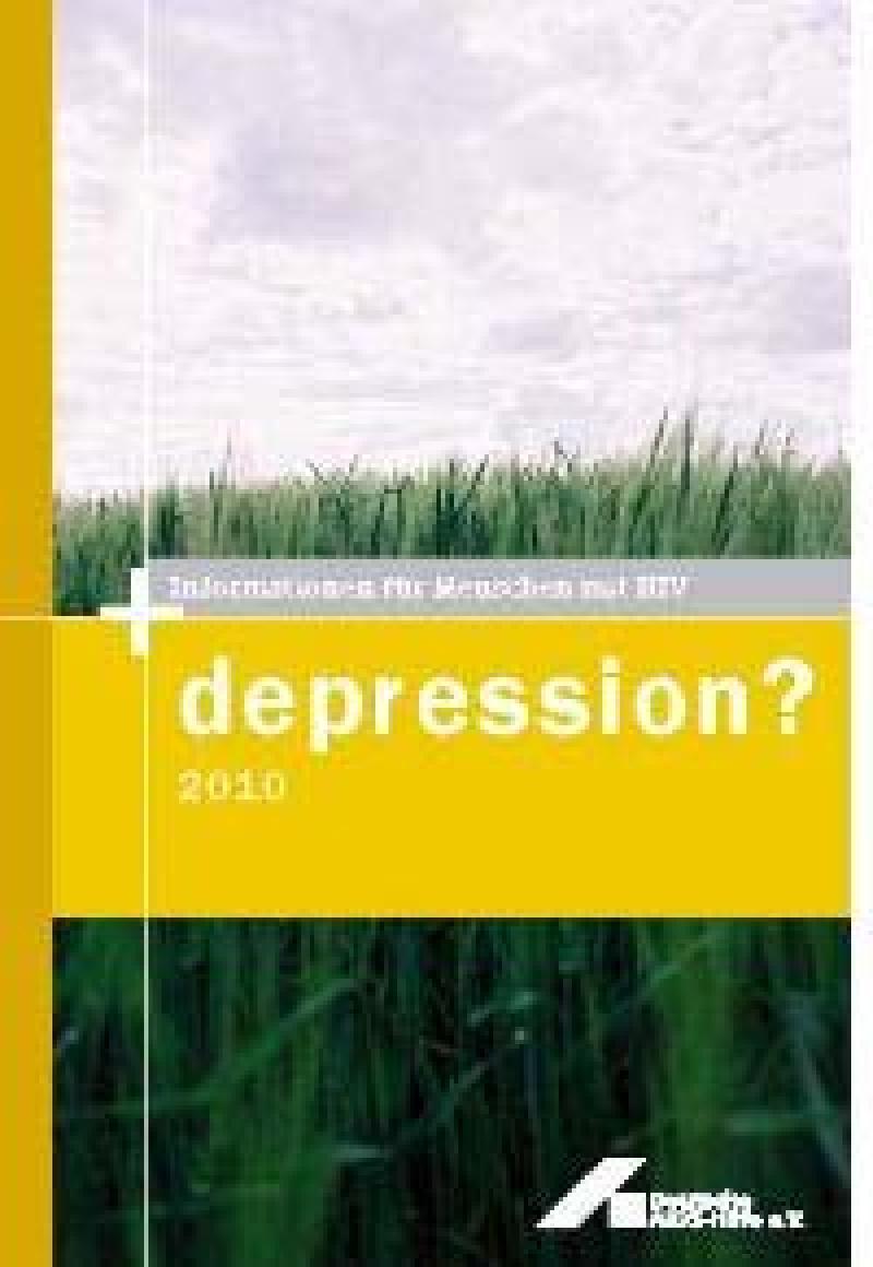 Broschüre Depression?