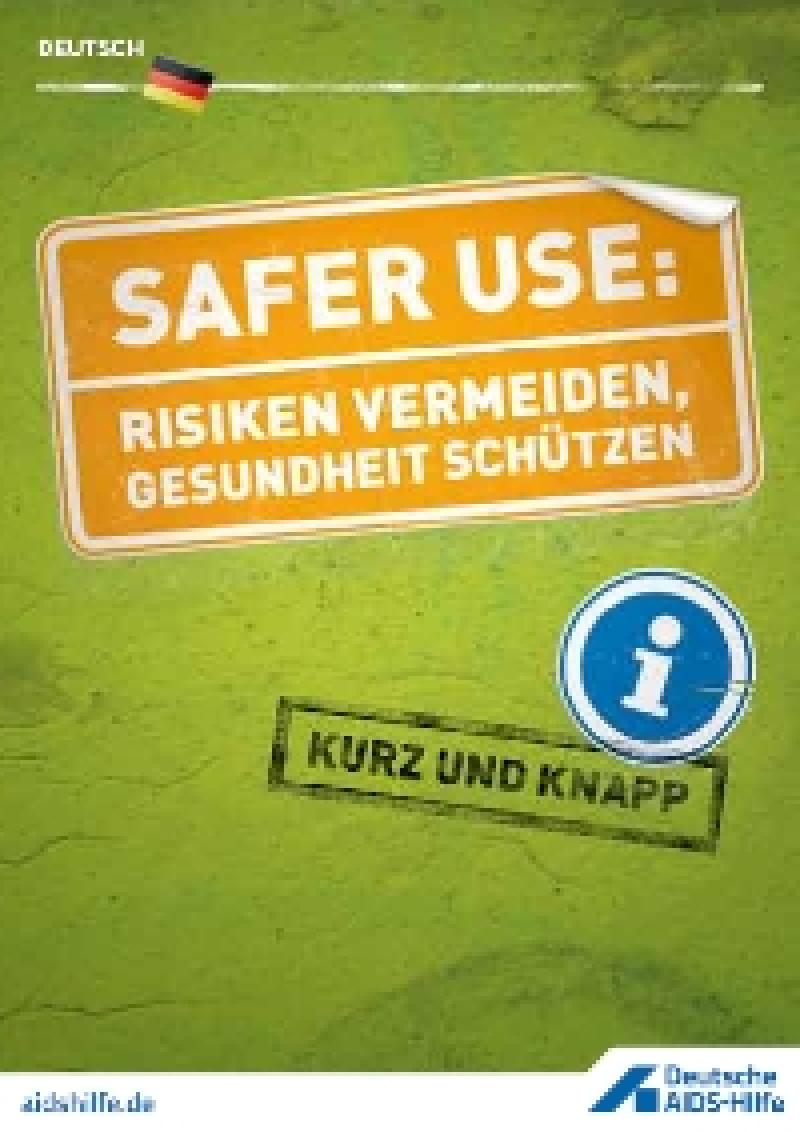 Faltblatt Safer Use
