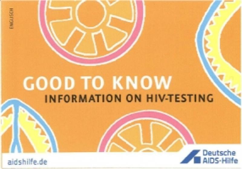 Leporello Gut zu Wissen Informationen zum HIV-Test