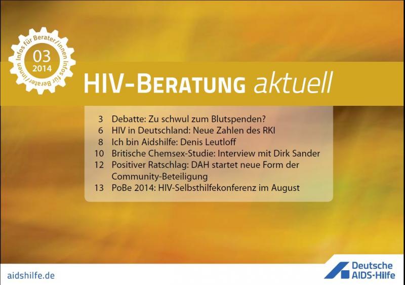 HIV-Beratung aktuell 2014/03