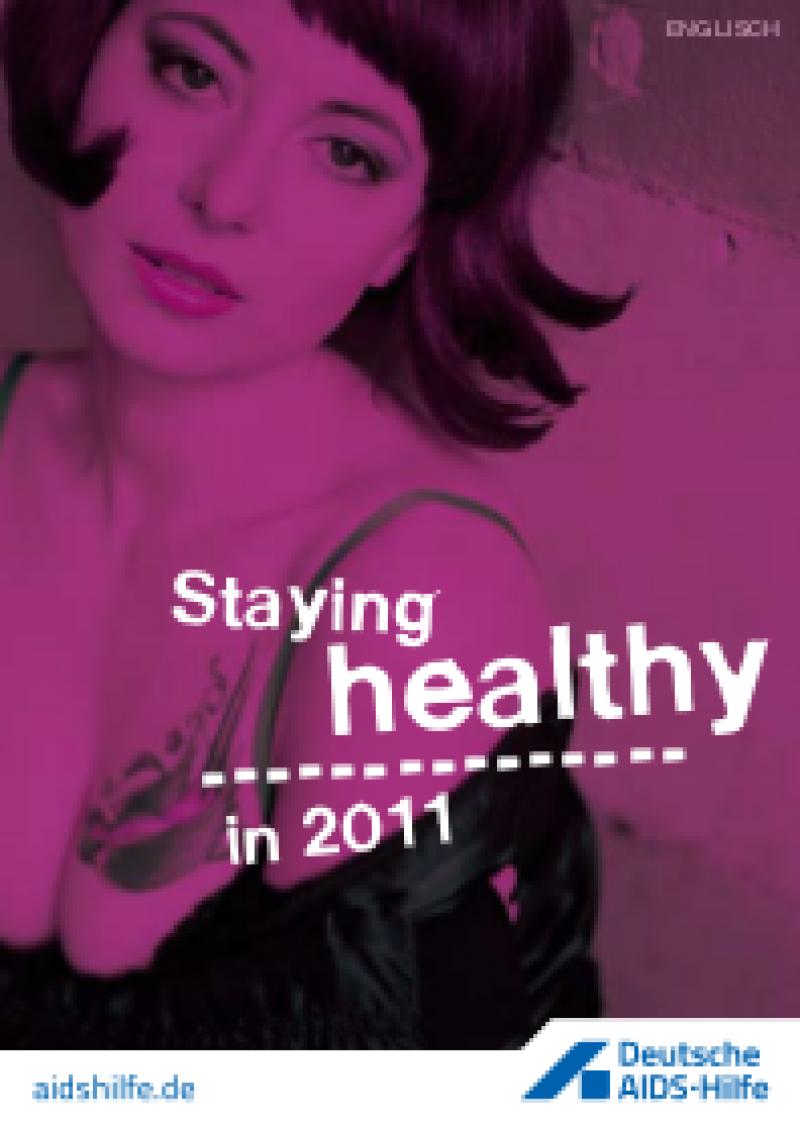 Cover Gesund durchs Jahr 2011 (englisch)