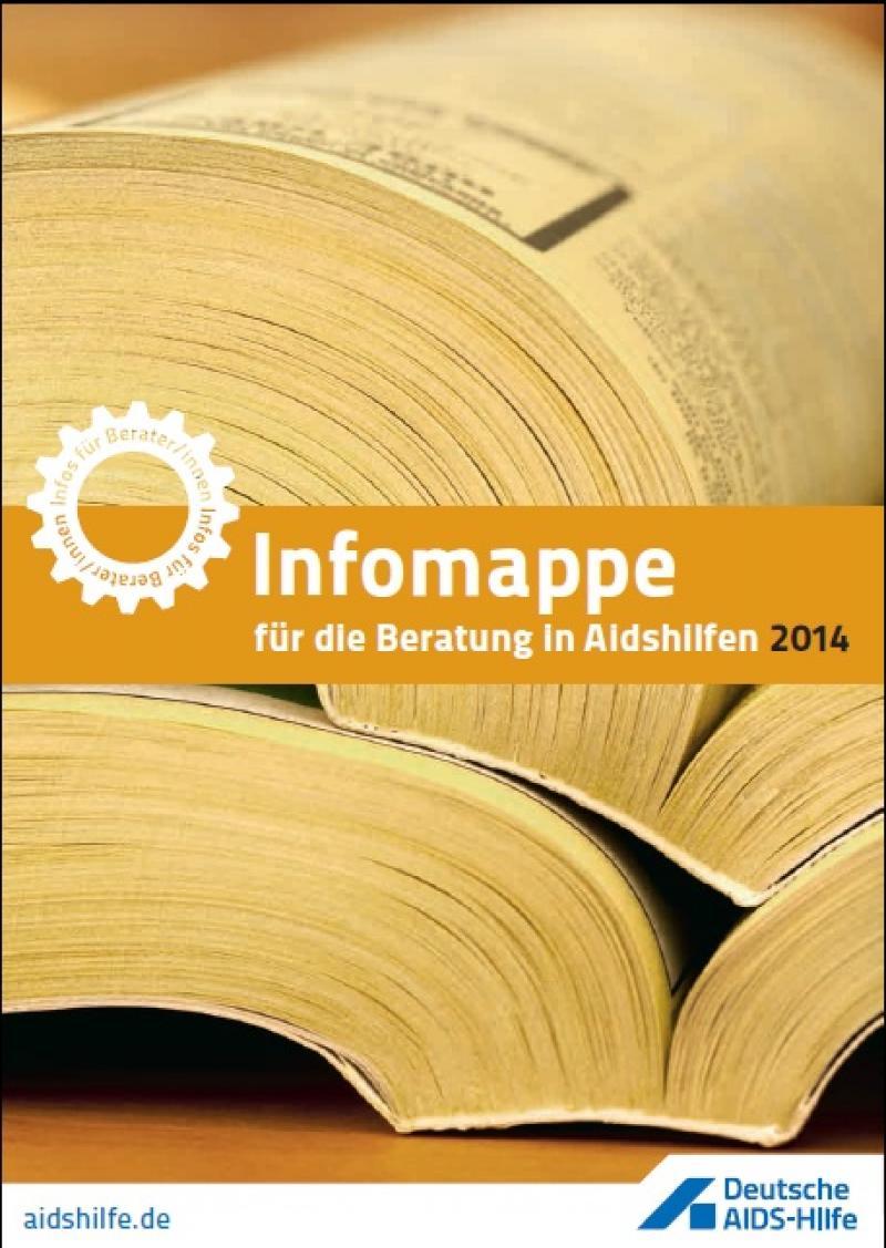 Infomappe für die Beratung in Aidshilfen 2014