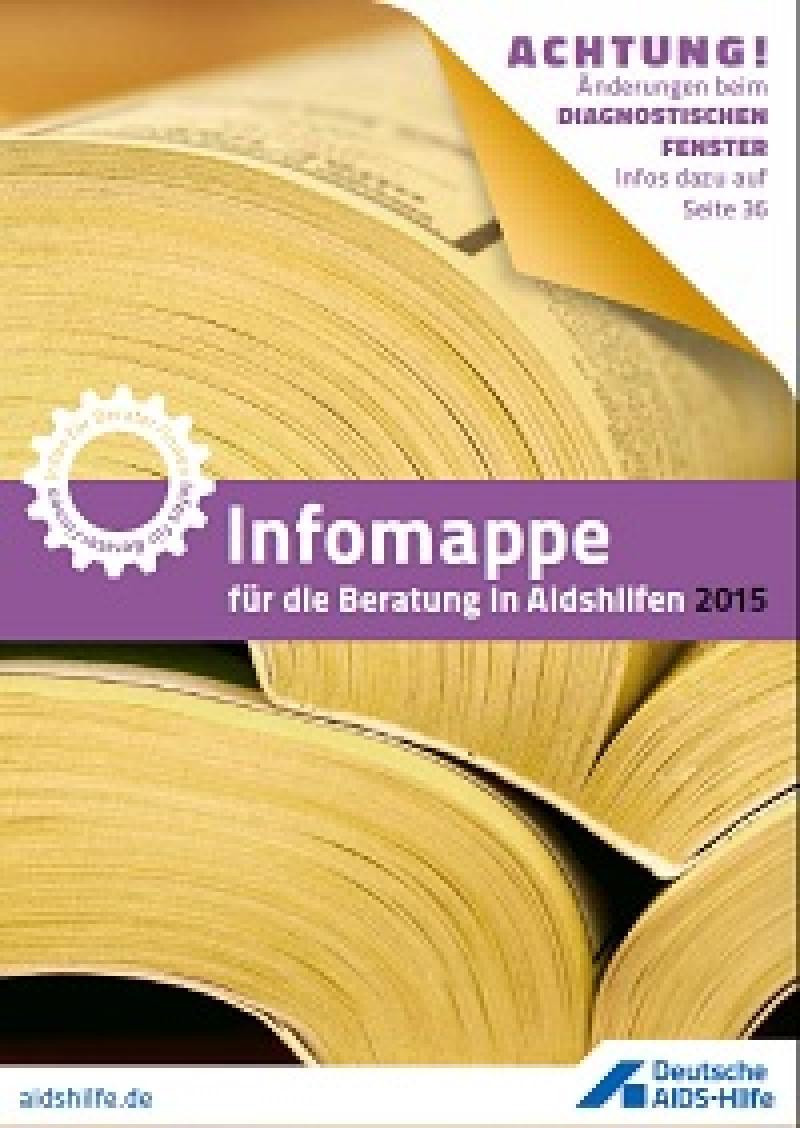 Infomappe für die Beratung in Aidshilfen 2015