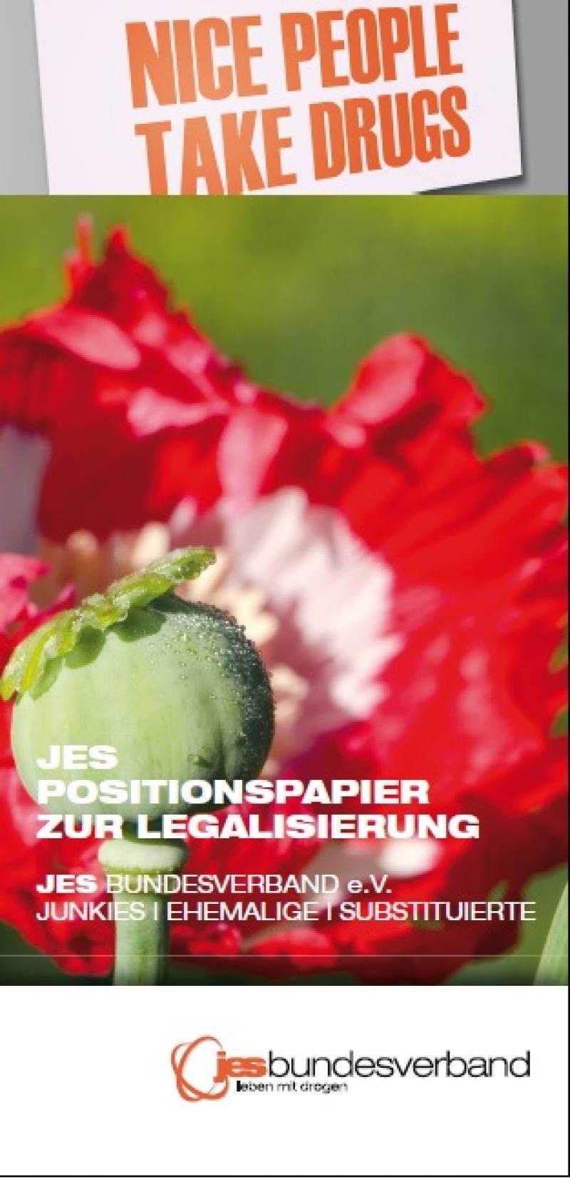 JES Positionspapier zur Legalisierung