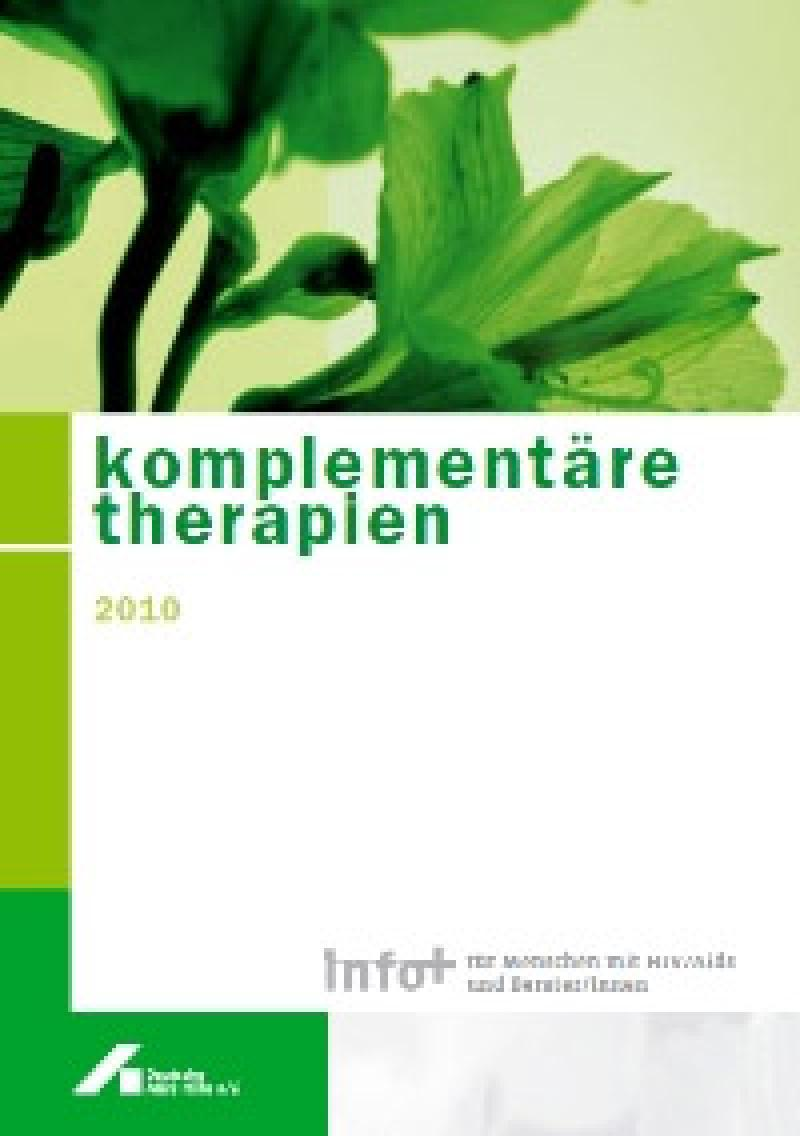 Broschüre Komplementäre Therapien