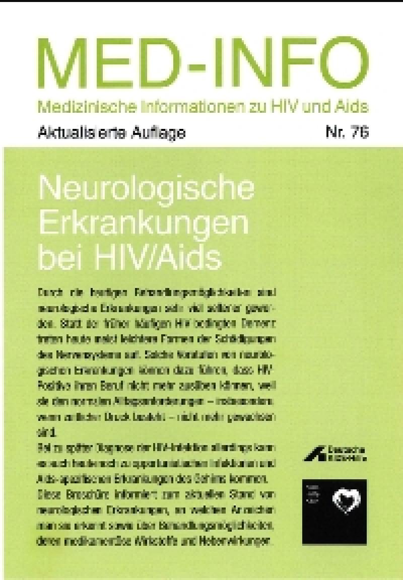 Neurologische Erkrankungen bei HIV/AIDS