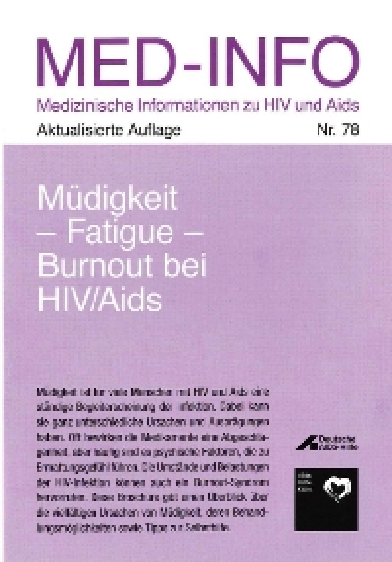Müdigkeit-Fatigue- Burnout bei HIV/AIDS