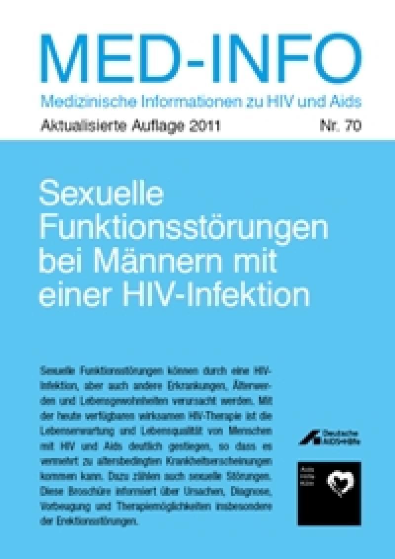 Sexuelle Funktionsstörungen bei Männern mit einer HIV-Infektion