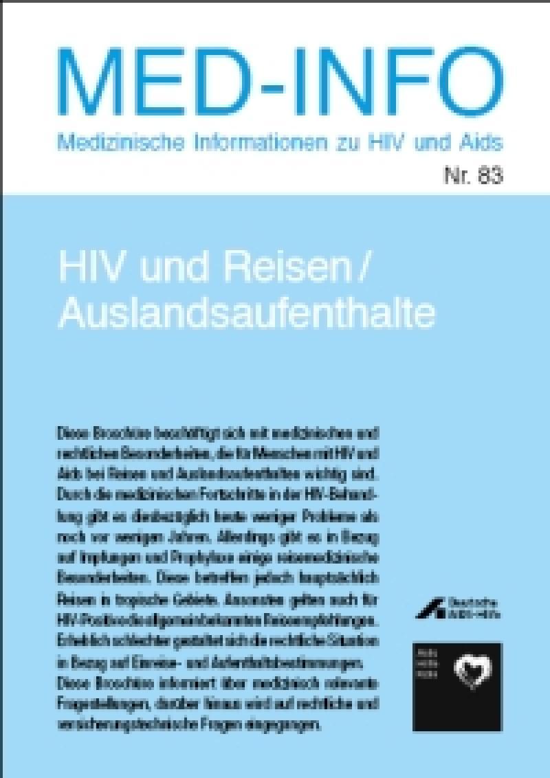 HIV und Reisen/ Auslandsaufenthalte