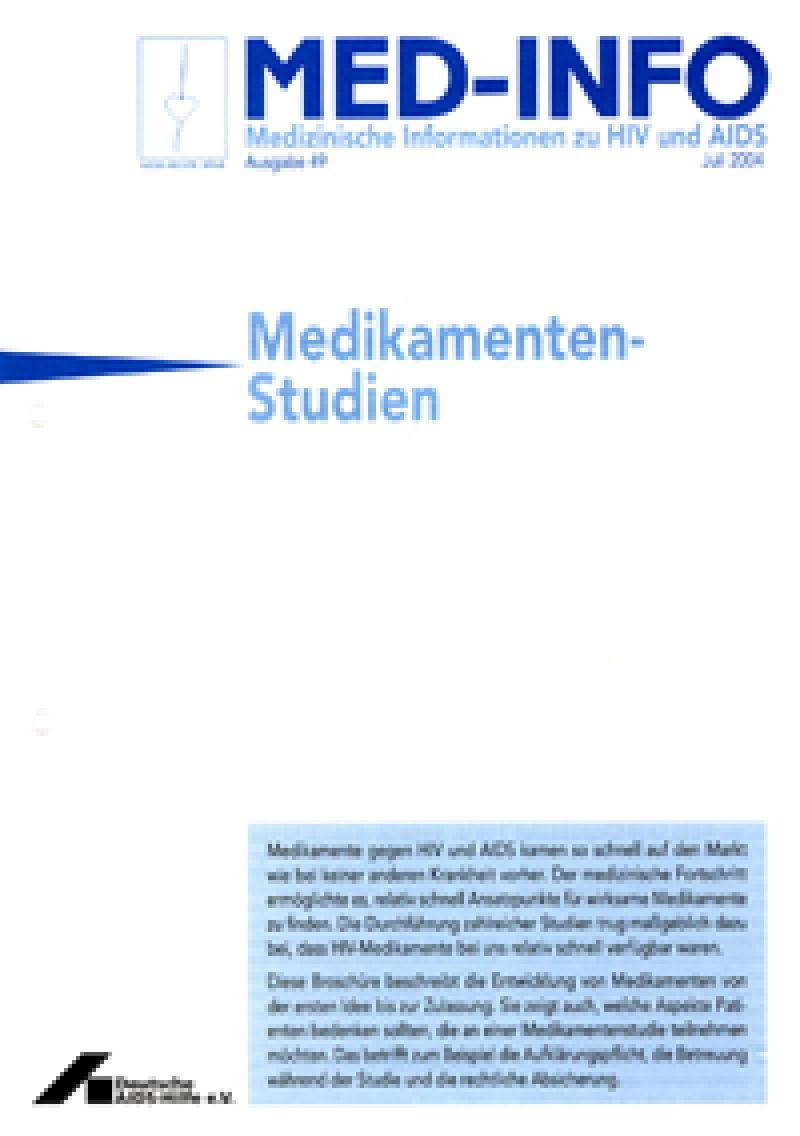 Med-Info Medikamenten-Studien