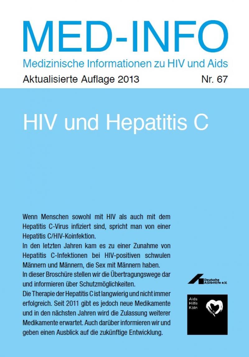 Med-Info Nr. 67 - HIV und Hepatitis C