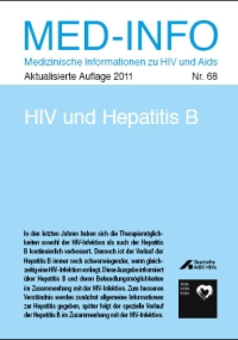 Med-Info Nr. 68 - HIV und Hepatitis B