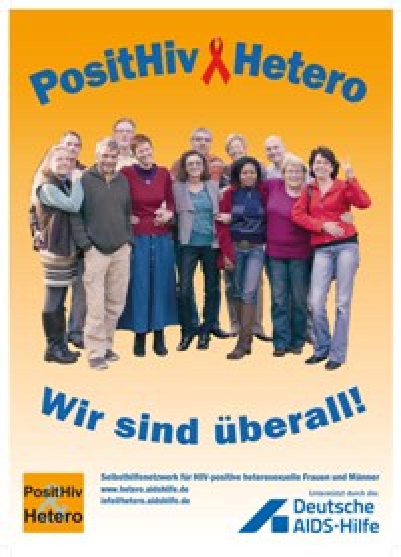 Plakat PositHiv & Hetero