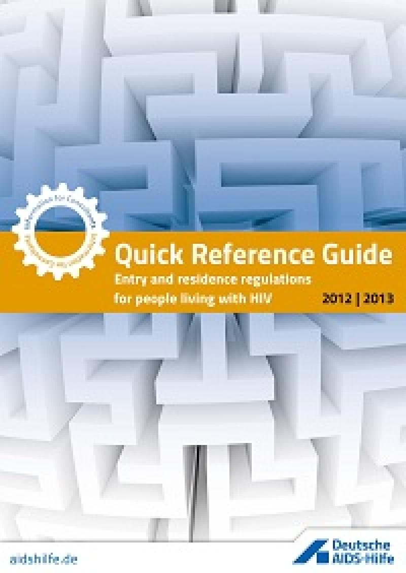 Quick Reference Guide 2012/2013