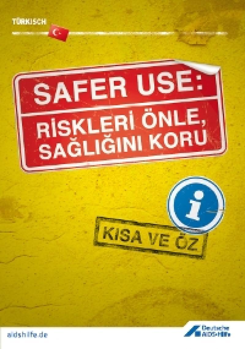 Faltblatt Safer Use