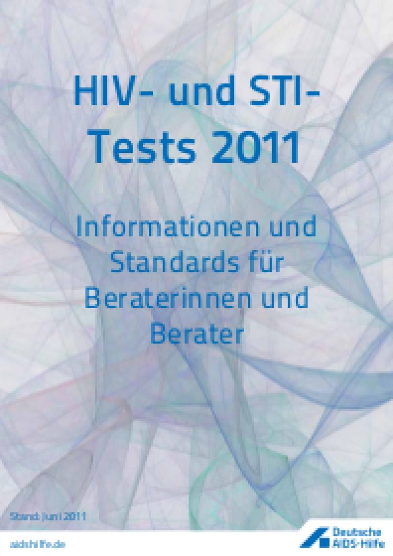 Cover HIV- und STI-Tests 2011