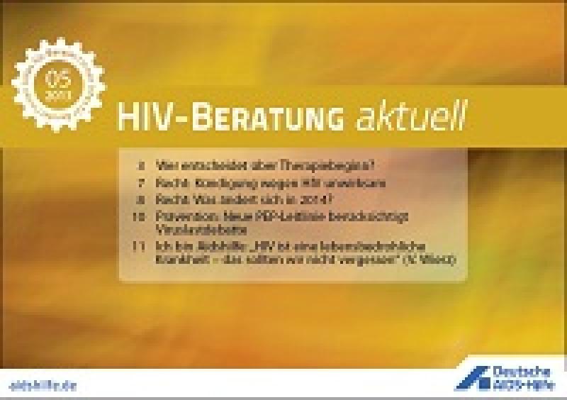 HIV- Beratung aktuell