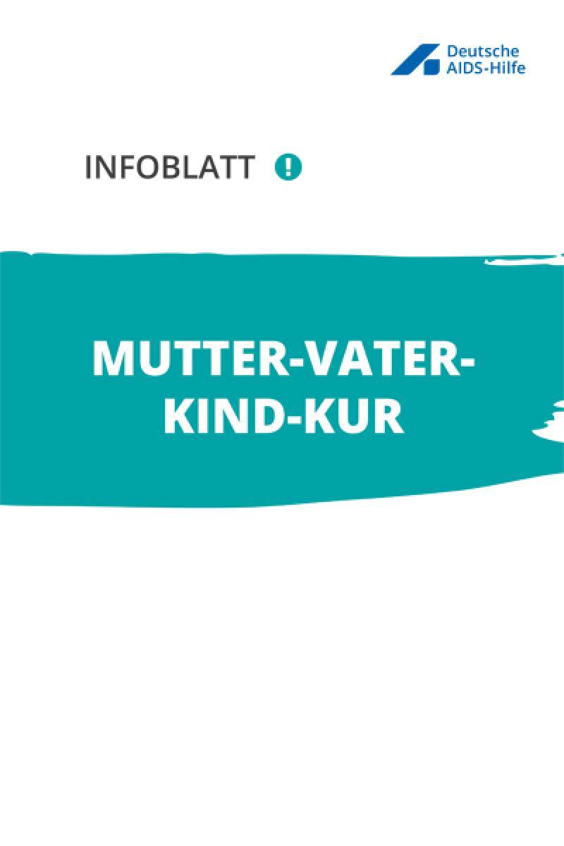 Cover Infoblatt Mutter-Vater-Kind-Kur