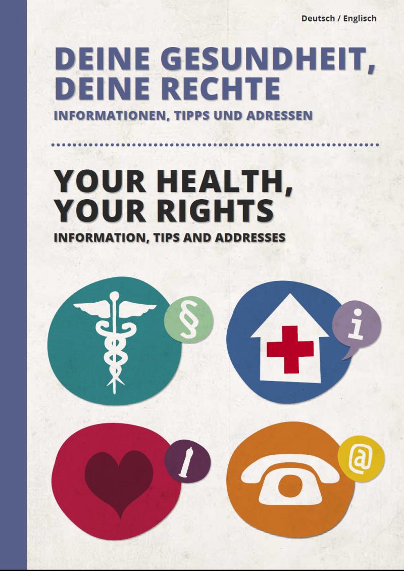 Deine Gesundheit, deine Rechte (deutsch/englisch)
