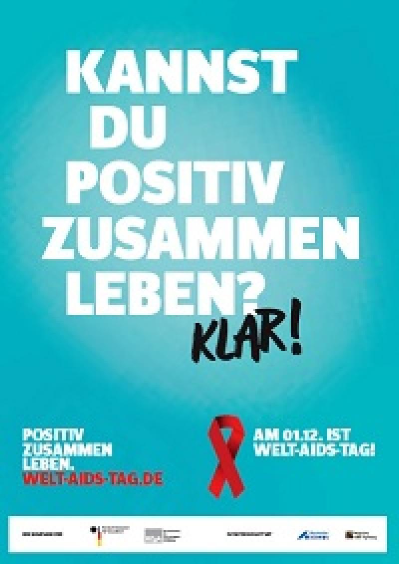 WELT-AIDS-TAG 2014: Kannst du positiv zusammen Leben? Klar!