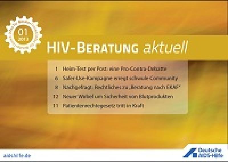 HIV-Beratung aktuell
