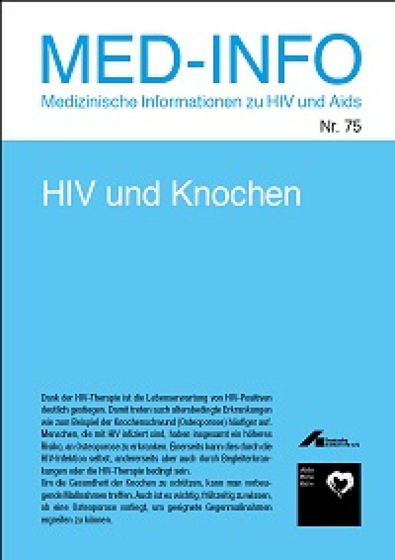 Med- Info Nr. 75 HIV und Knochen