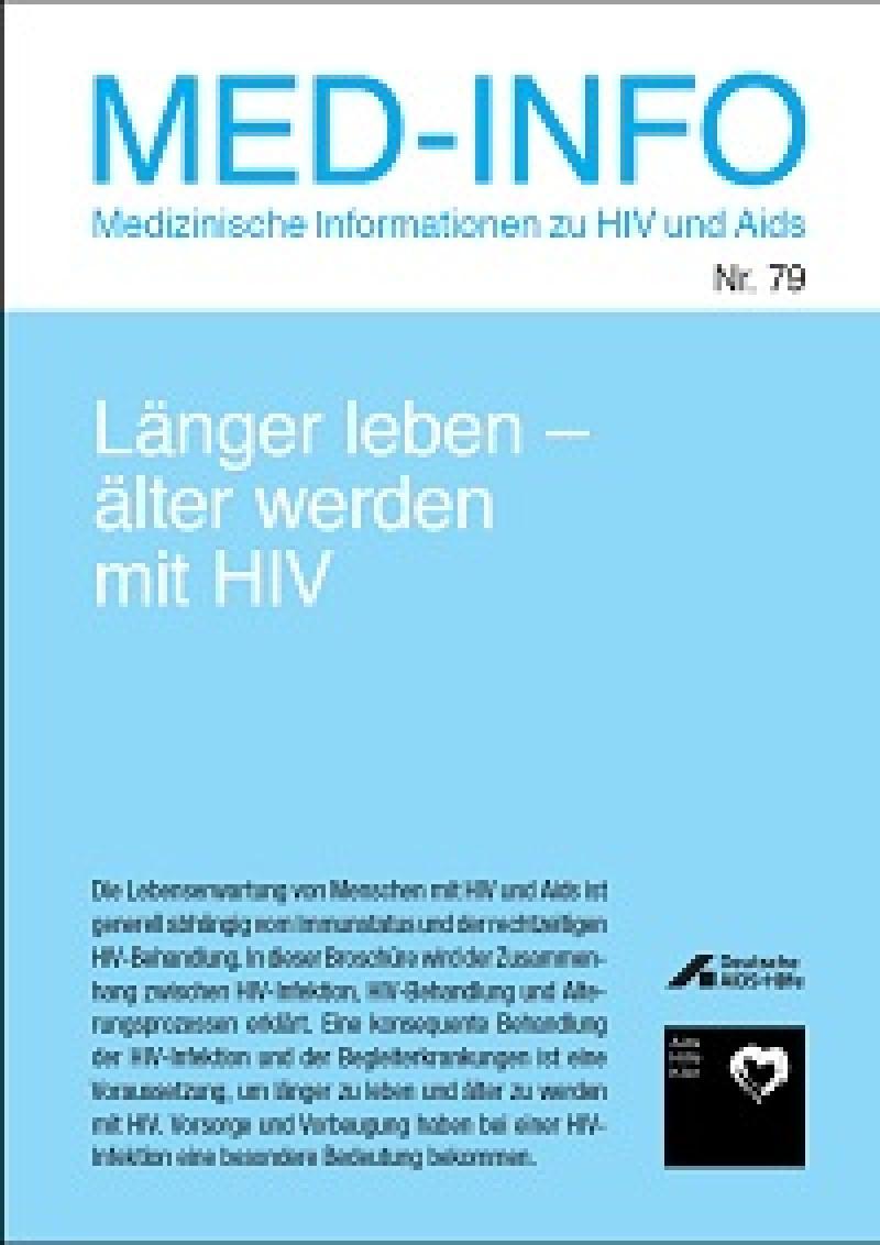 Med-Info Nr. 79 - Länger leben - älter werden mit HIV