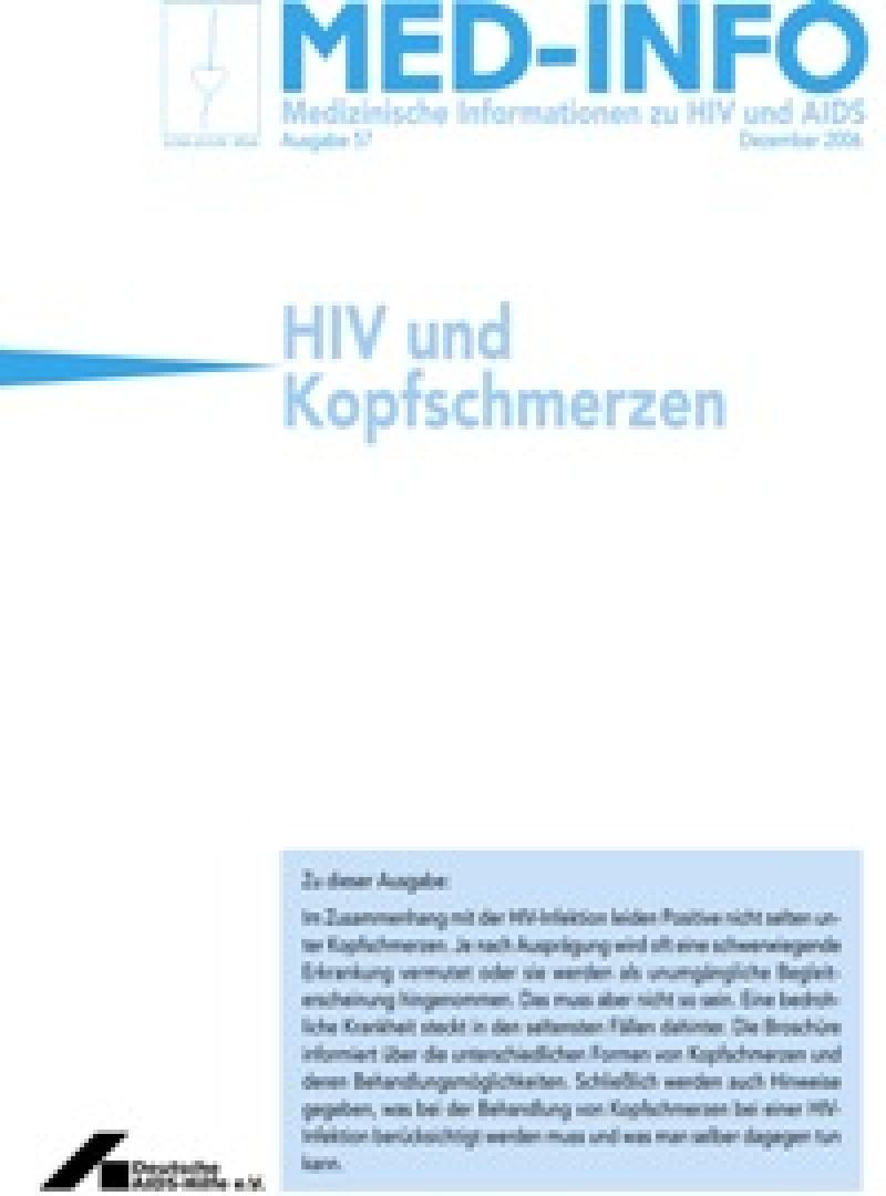 Med-Info Nr. 57 HIV und Kopfschmerzen