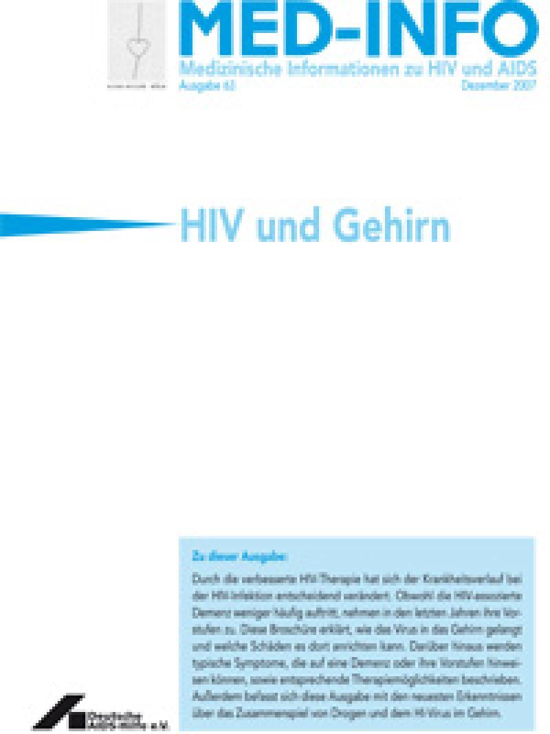 Med-Info Nr. 63 HIV und Gehirn