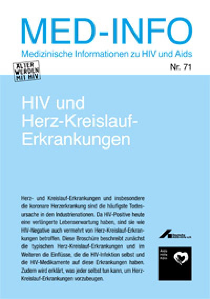 Med-Info Nr. 71 HIV und Herz-Kreislauf- Erkrankungen