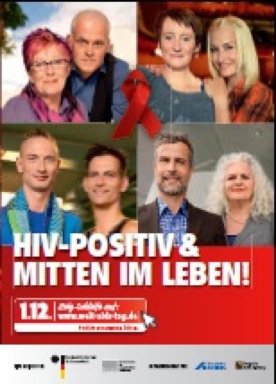 Welt AIDS Tag 2013 mit Stempelfeld