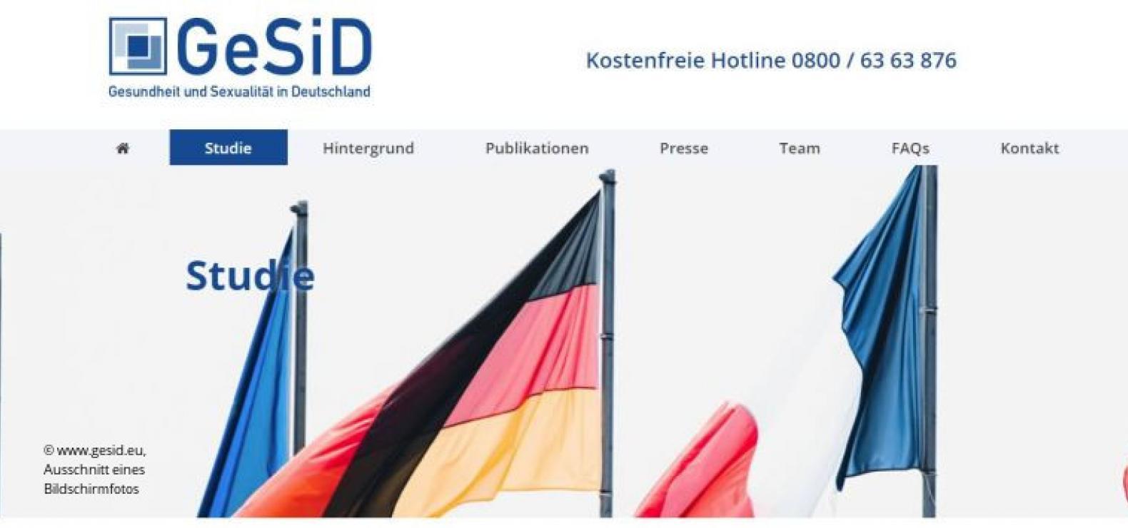 GeSiD Gesundheit und Sexualität in Deutschland