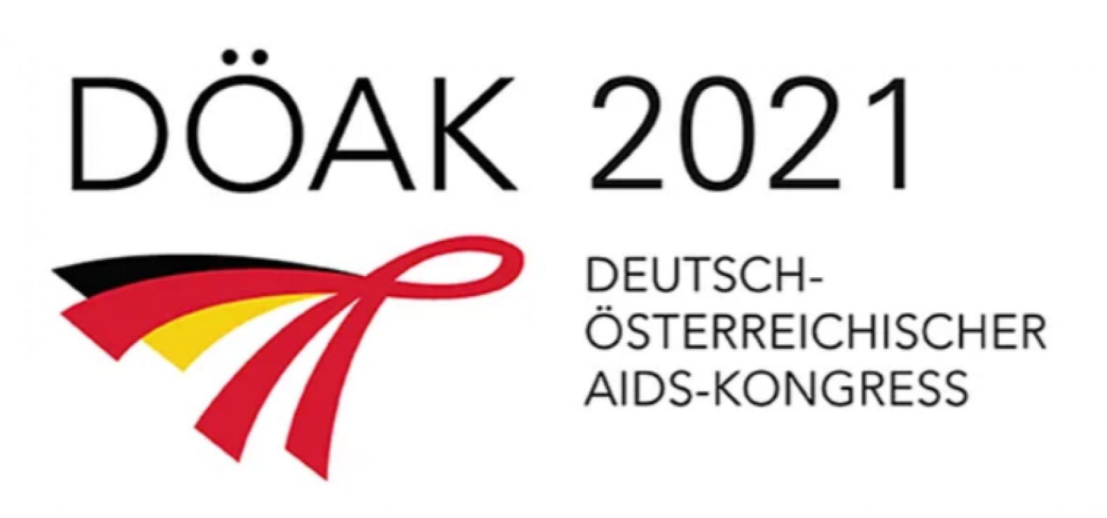 Das Logo vom DÖAK 2021 - Deutsch-Österreichische Aids-Kongress