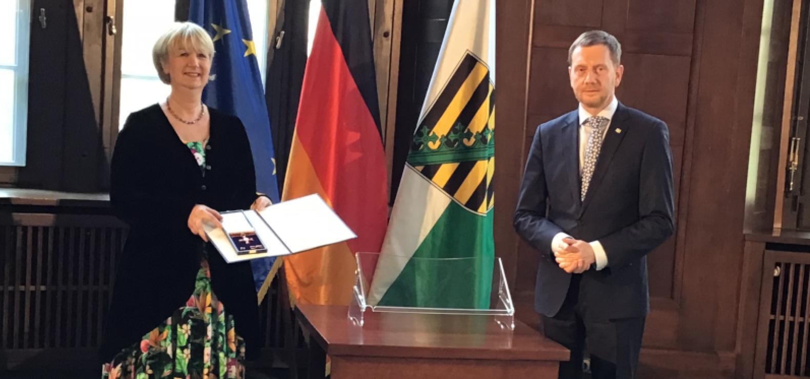 Bundesverdienstkreuz für Sylvia Urban
