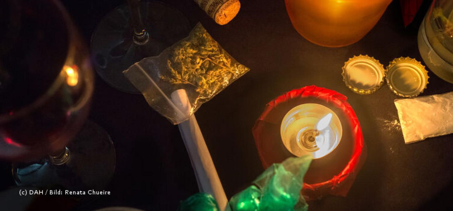 Drogen-Party