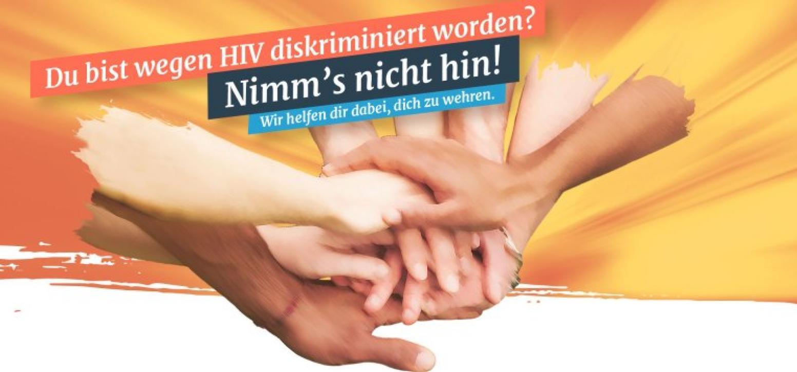 HIV-Diskriminierung: Startseite von hiv-diskriminierung.de