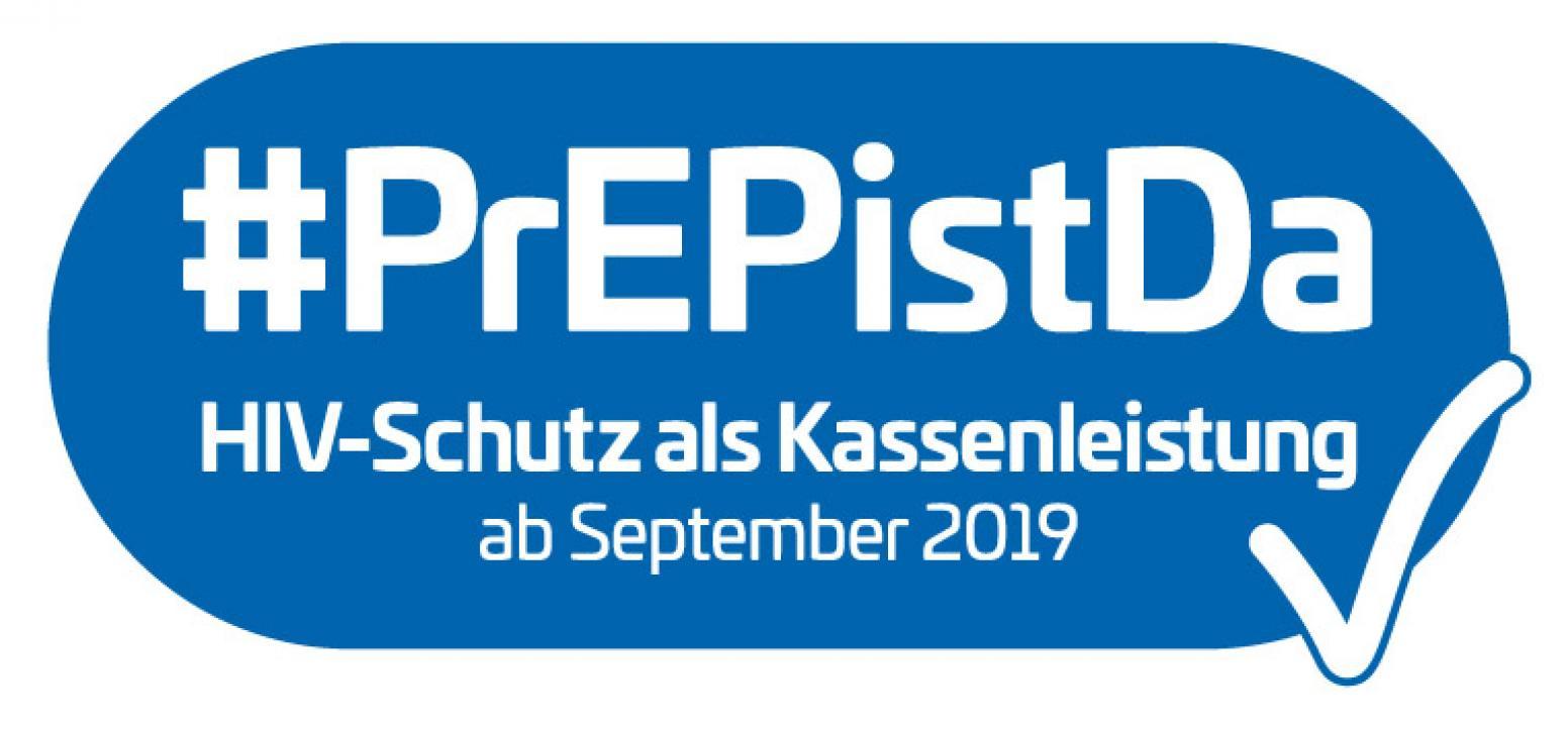#PrEP ist da - HIV-Schutz als Kassenleistung ab September 2019