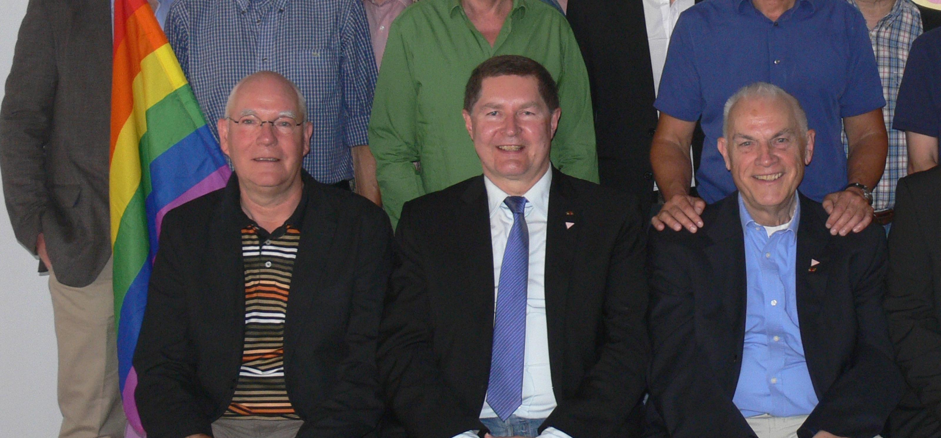 Gruppenfoto der Gründungsmitglieder