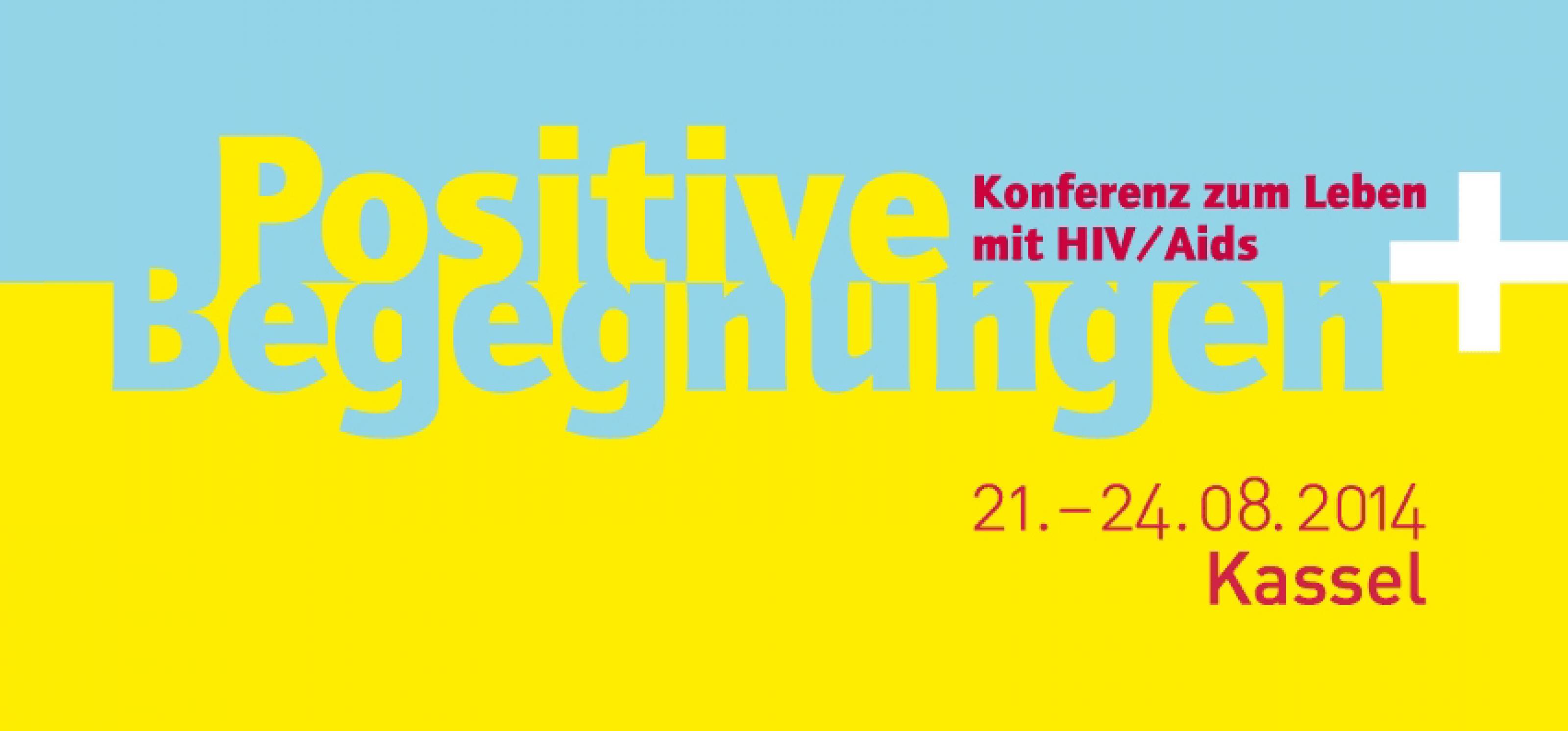 Plakat Positive Begegnungen 2014