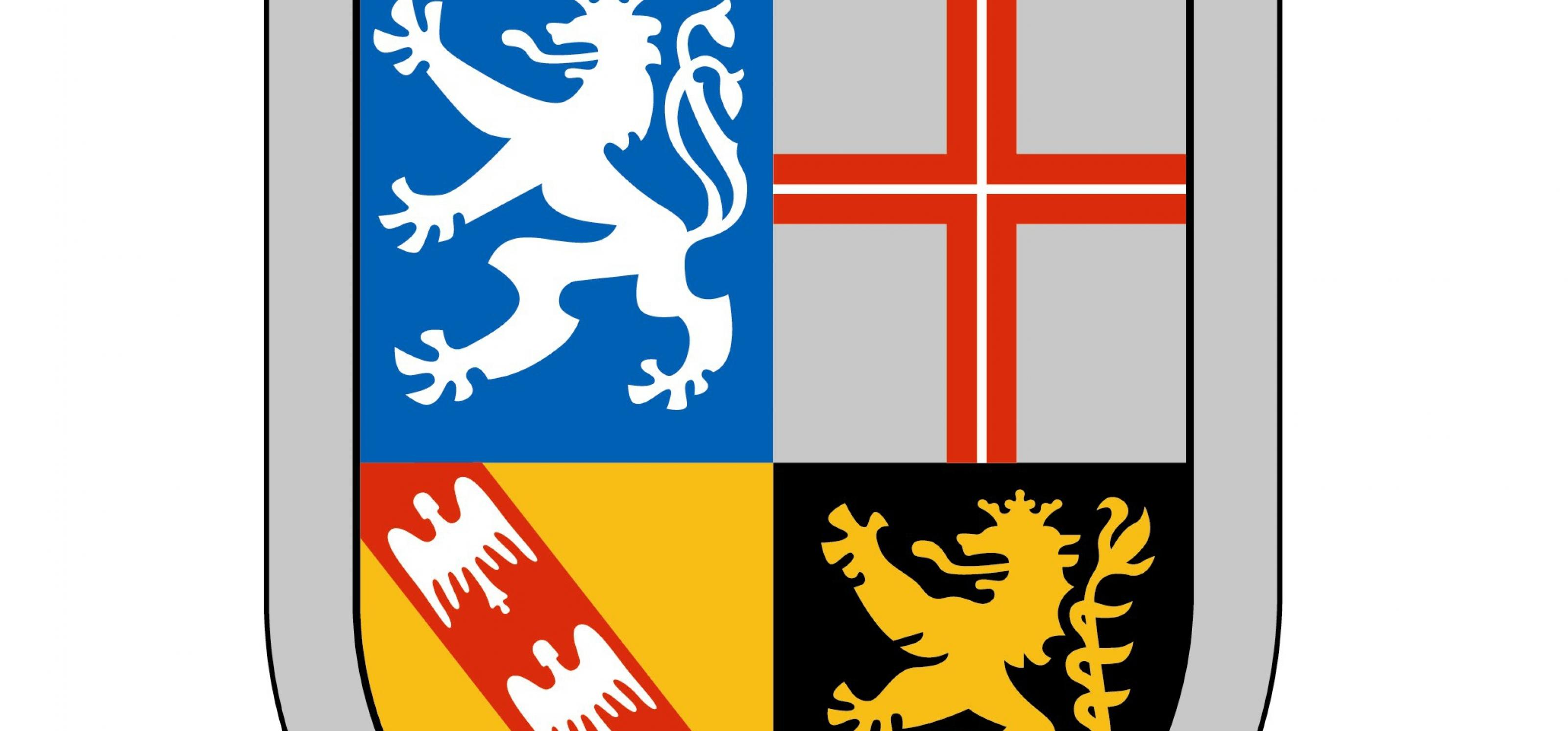 Das Wappen des Saarlands